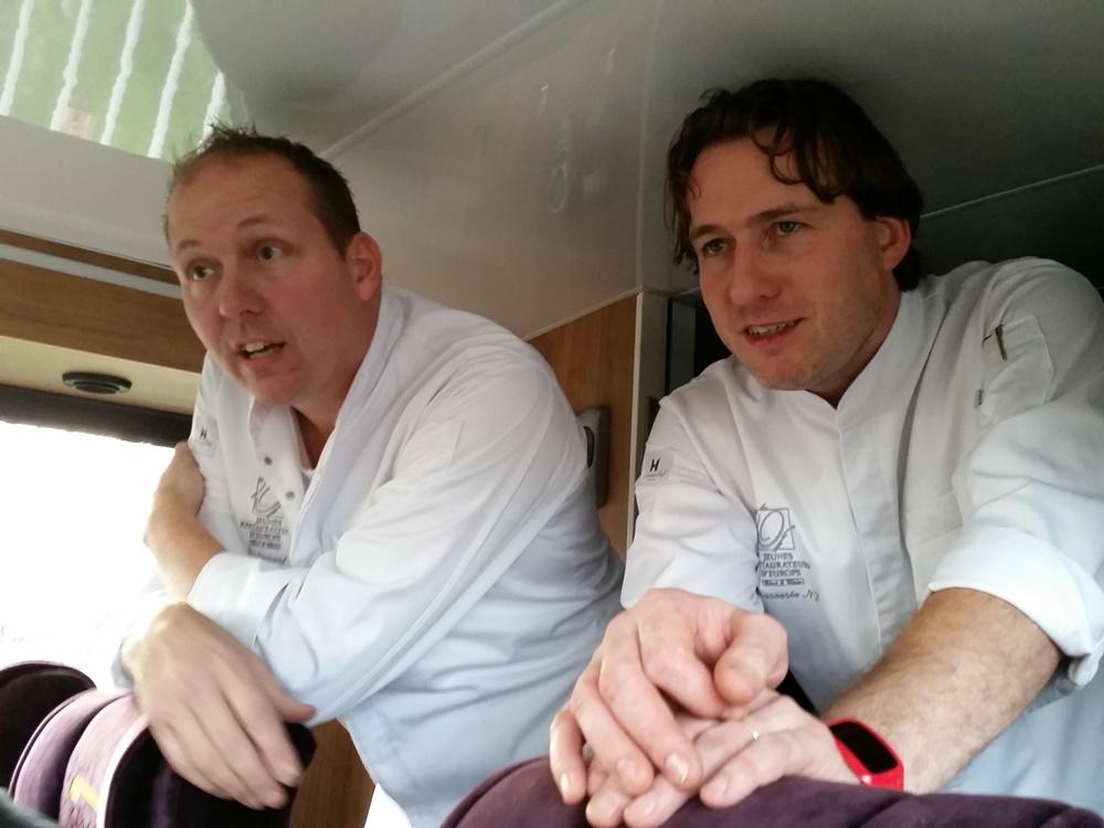 Links Eric van Bochove, rechts Ruben van Dieten.