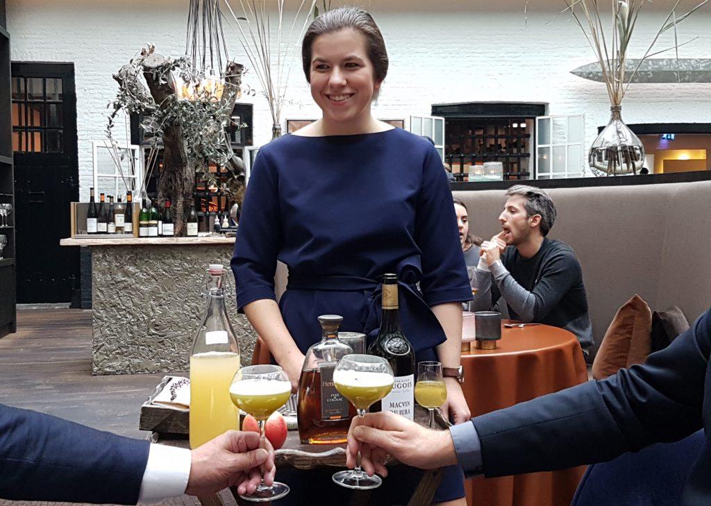 NHGP 2018 Sara Neyrinck De Librije cocktail Hennesssy