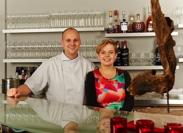 Martin en Rosita Ruisaard Restaurant De Fuik